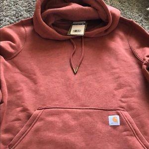 Women's Carhartt burnt orange hoodie